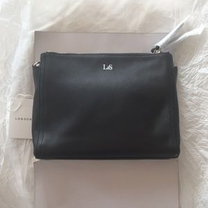 NWT Lo & Sons The Pearl Nappa Leather